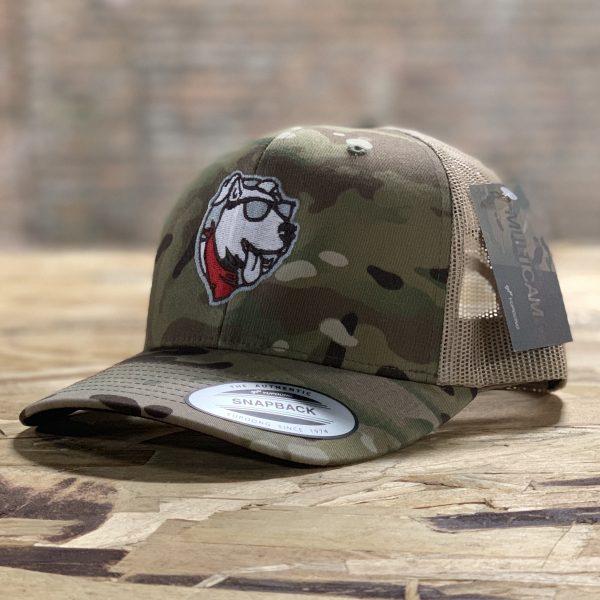 Custom Embroidered Camo Trucker Hat