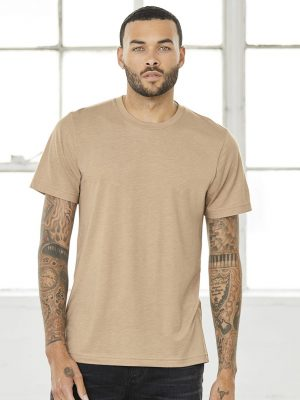 Method Printing - Bella + Canvas 3001 - Custom Printed Shirt - Model
