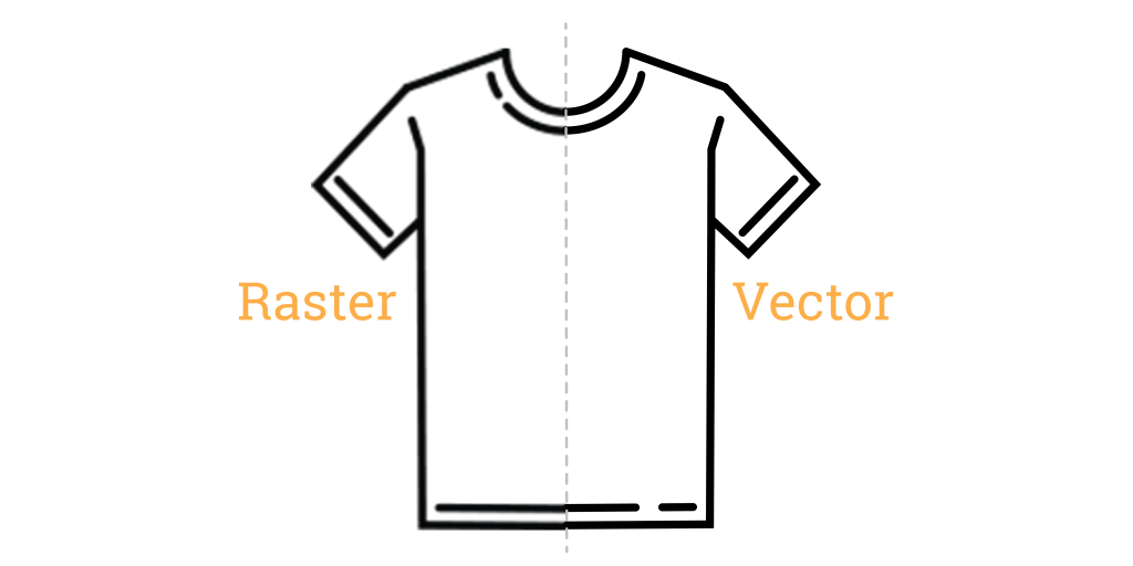 Method Chicago Screen Printing - Raster Images VS Vector Images