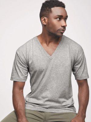 Custom Screen Printed American Apparel V-Neck Shirts
