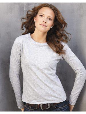 Method Chicago Screen Printing - Gildan Long sleeve Ladies Fit Shirt