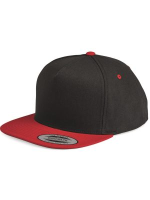 Method Chicago Embroidery - Yupoong - Five-Panel Flat Bill Cap - 6007