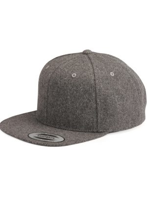Method Chicago Embroidery - Yupoong - Melton Wool Snapback Cap - 6689