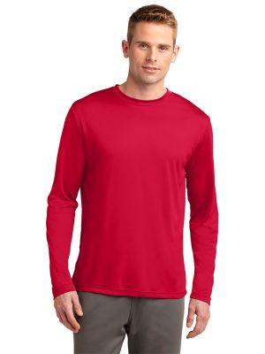 Method Screen Printing and Embroidery - Custom Printed Sport-Tek Unisex Long Sleeve Athletic Shirt
