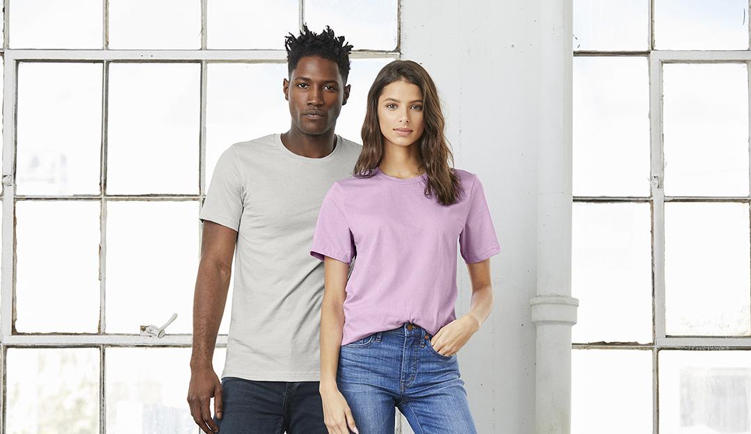 Custom Printed Bella+Canvas Short Sleeve Shirt
