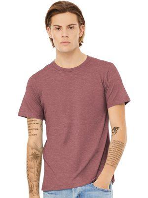 Bella Canvas 3001 CVC Cotton Poly Blend Short Sleeve Shirt